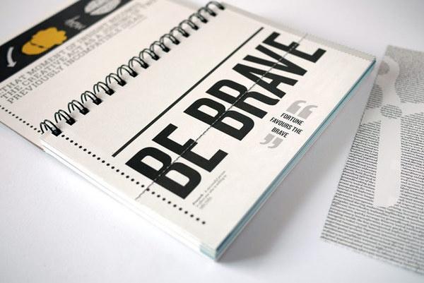 The Black Book by Karl Mynhardt, via Behance
