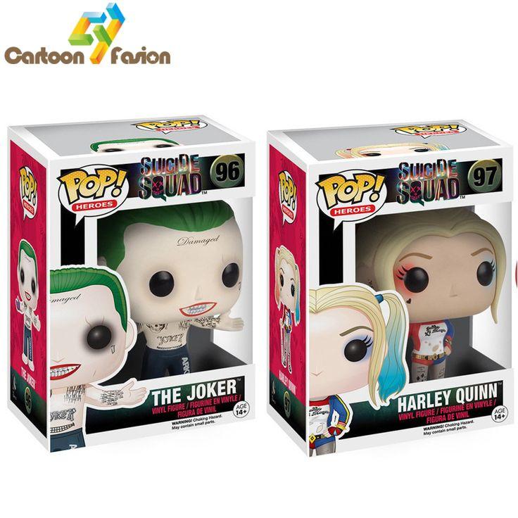 Funko POP Original Suicide Squad Joker Harley Quinn //Price: $41.85 & FREE Shipping //     #arkhamknight #superman #wonderwoman #thedarkknight #superheroes #harley #margotrobbieharleyquinn