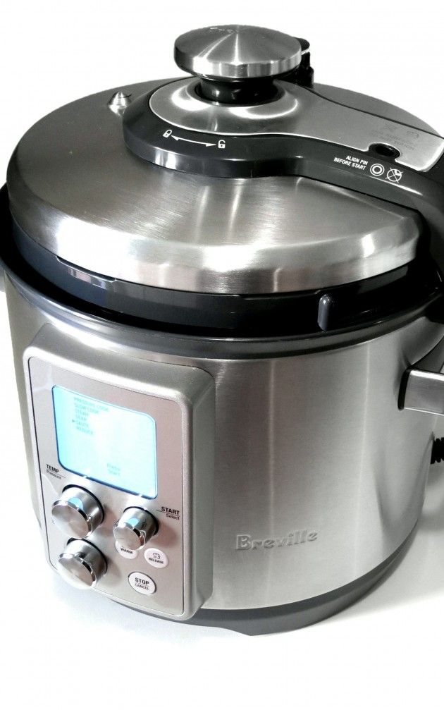 Electric Pressure Cooker Review: Breville Fast Slow Pro