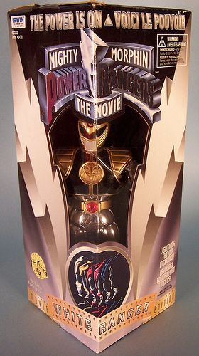 Mighty Morphin Power Rangers: The Movie White Ranger figure