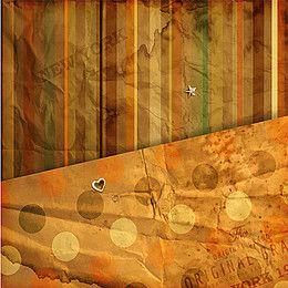 Brown striped wallpaper background round