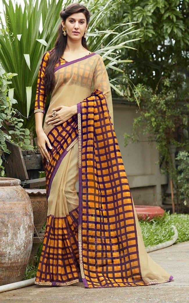 0584211d8d Rajjo Net Chiku Designer Saree | Engagement Sarees | Designer sarees ...