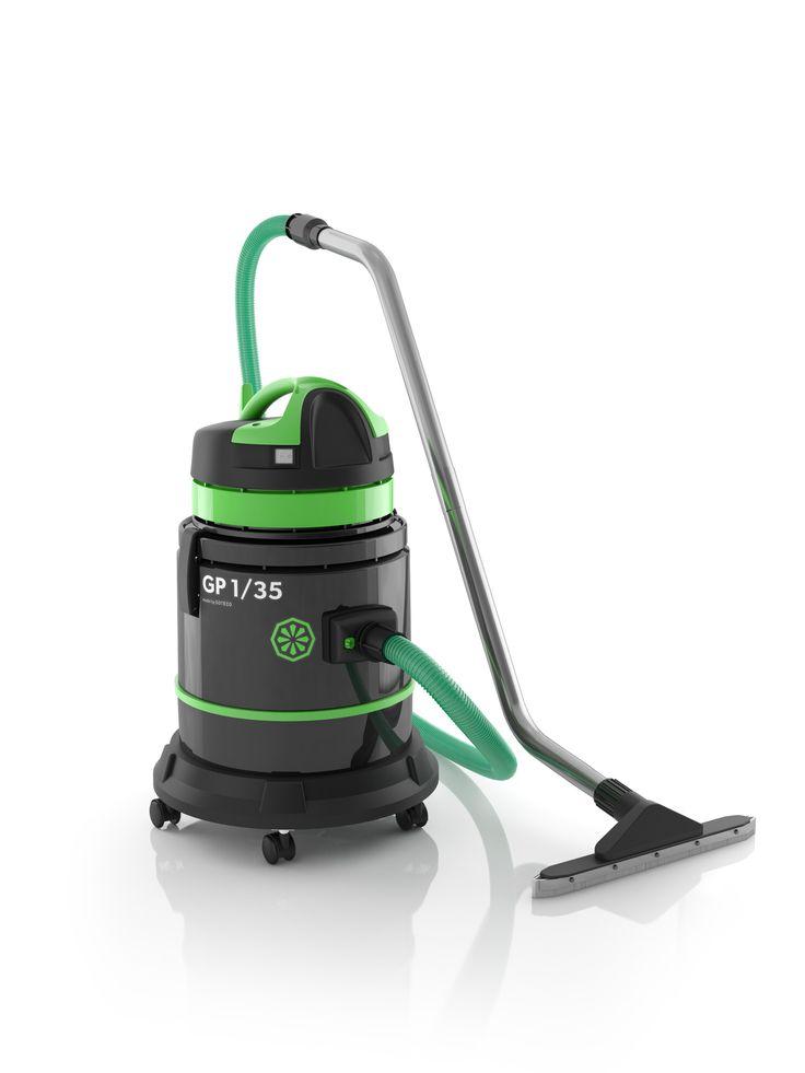 Aspirateur ica GP 1_35 est un aspirateur pro eau et poussière. Cet aspirateur nouvelle génération détient un système antimousse, une cartouche filtrante lavable qui permet d'aspirer eau et poussière sans changer l'accessoire. Afin de repérer les bouchons elle dispose d'un flexible vert transparent, d'accessoires de qualité, fixations de cuves en nylon et incassables. C'est un aspirateur pro entrée de gamme.