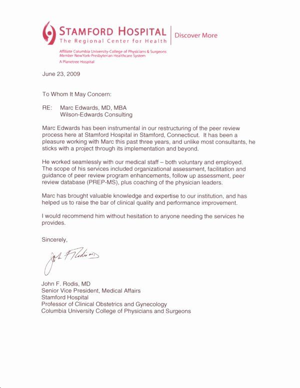 Peer Letter Of Recommendation Beautiful Testimonial Letter Dr Rodis In 2020 Letter Of Recommendation Reference Letter Peer