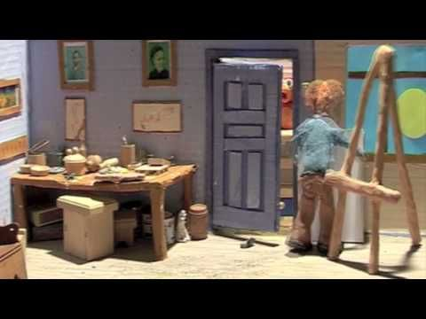 claymation of van gogh