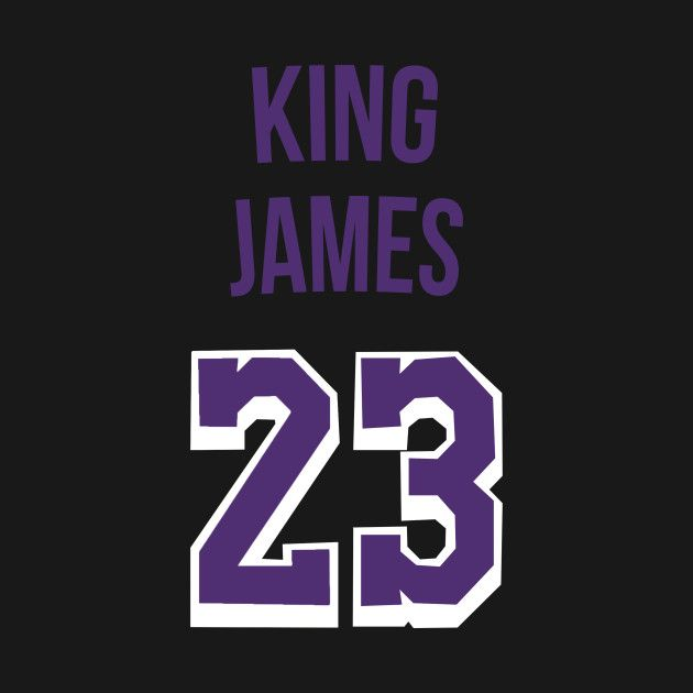 sale retailer d7df8 09a5f Lebron James 'King James' Nickname Jersey - Los Angeles ...