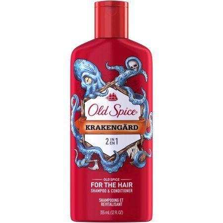 Old Spice Krakengard 2in1 Men's Shampoo & Conditioner, 12 fl oz