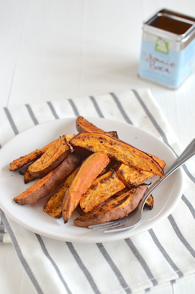 Sweet potato Cajun wedges