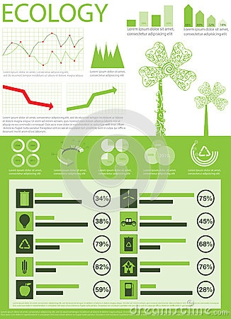 Info graphics collection by Skakavacflip, via Dreamstime