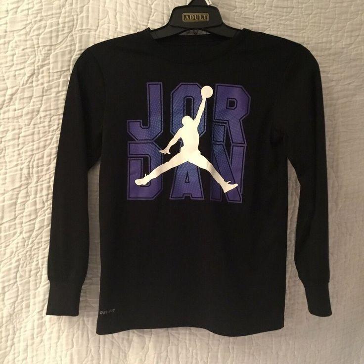 Nike air jordan jumpman drifit long sleeve shirt youth