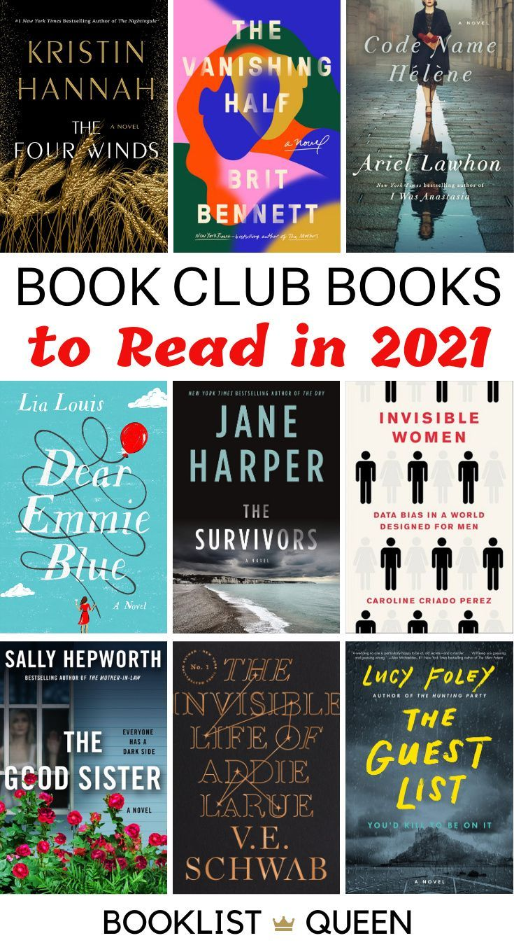 Top 21 Book Club Books For 2021 Book Club Books Book Club Recommendations Book Club Reads
