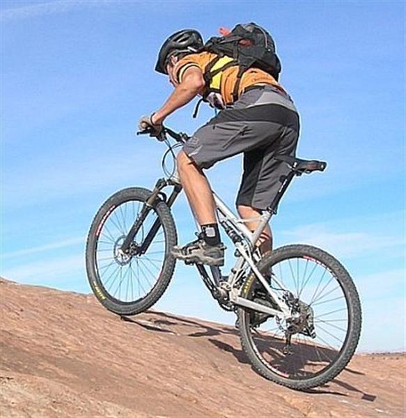 Жизнь, как езда на велосипеде — если тебе тяжело, значит ты идёшь на подъём.