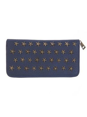 Barfota spring/summer 2014 Wallet with star rivets navy www.barfota.no