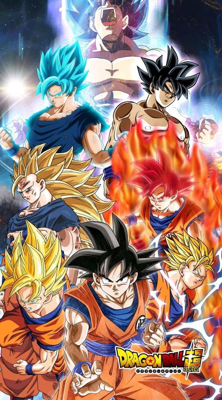 Goku ultra instinct all forms dragon ball super dragon ball we love pinterest dragon - Dragon bale z ...