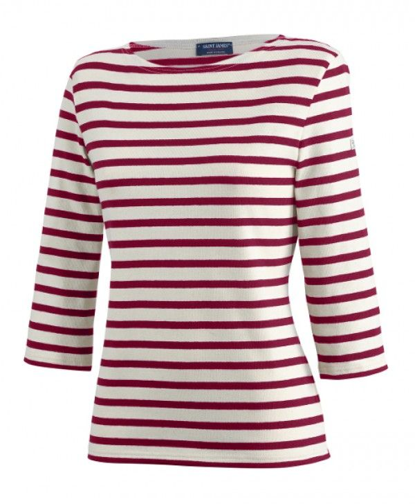 Huitriere III Nautical Striped Top for Women | Official Saint James® Site