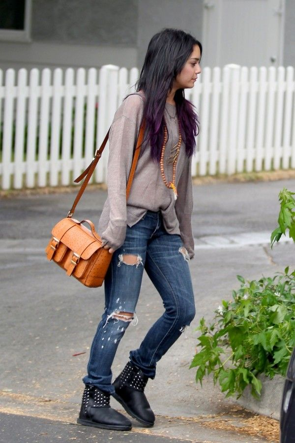 Vanessa Hudgens in Current/Elliott... no one can pull off casual like her
