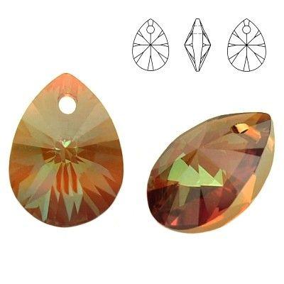 6128 Mini Pear 8mm Copper 5 pieces  Dimensions: 8,0mm Colour: Copper 1 package = 5 pieces