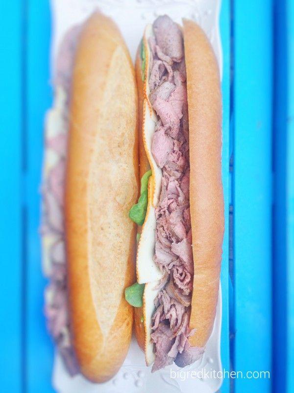 simple: big sandwiches