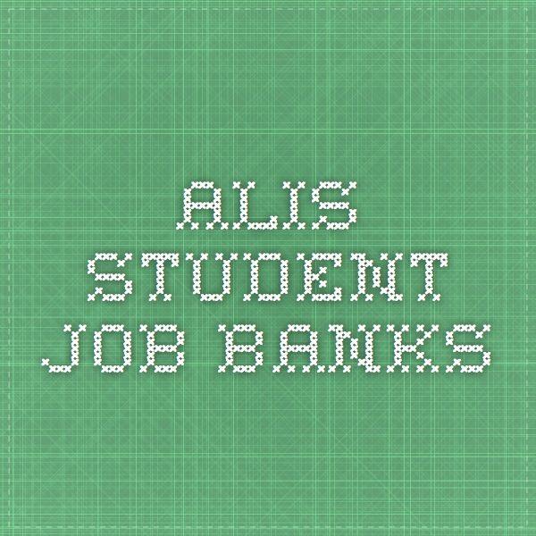 ALIS - Student Job Banks.