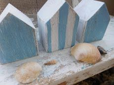 Strandhäuser aus Altholz