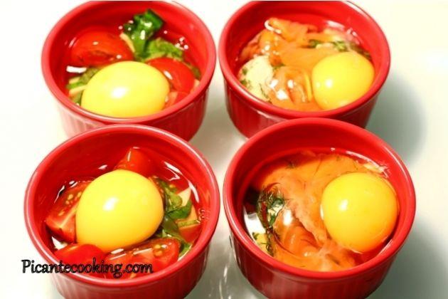 Яйца-кокот: 2 варианта