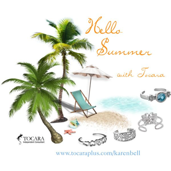 Hello Summer with Tocara by karen-bell on Polyvore