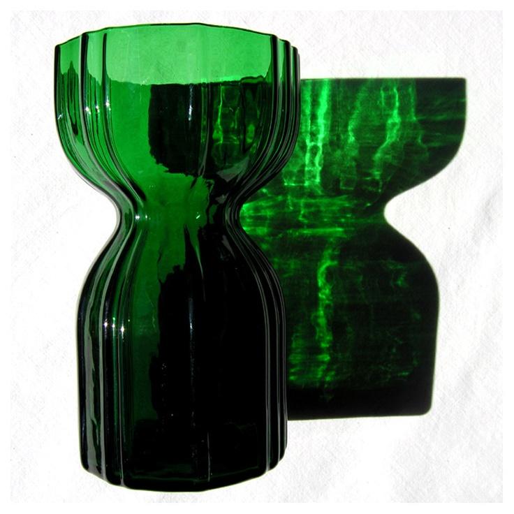 Vas/hyacintglas från Lindshammar, formgivare Christer Sjögren