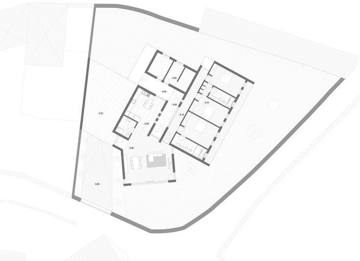 House in Macieira I,Plan
