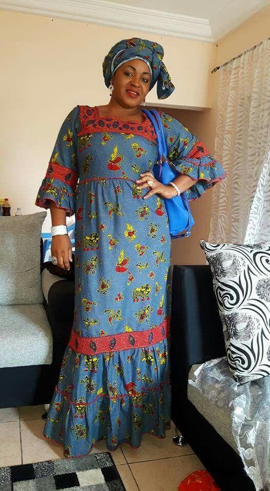 Robe Taille Mame Boye Modele Wax Pinterest Mode Africaine Robe Africaine Et Femmes Africaines