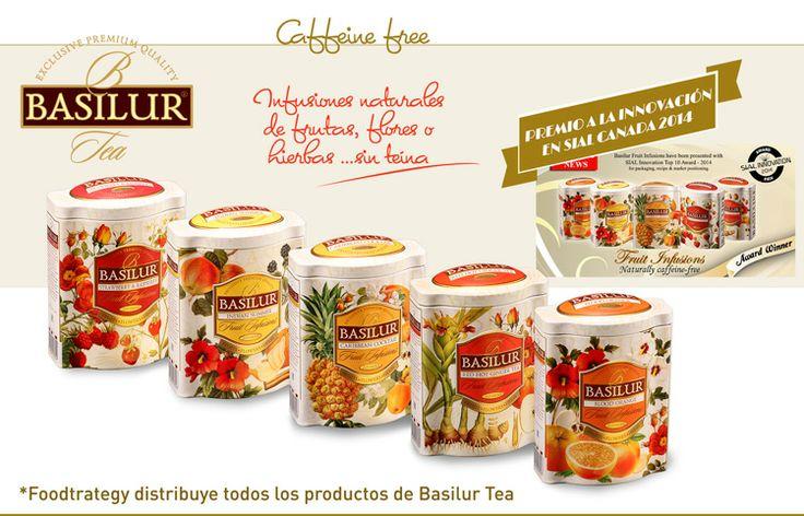 Basilur Tea Spain & France. Fruits infusions Caffeine free.
