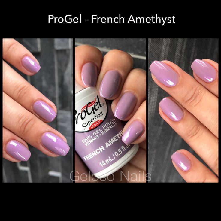 Supernail Progel French Amethysr