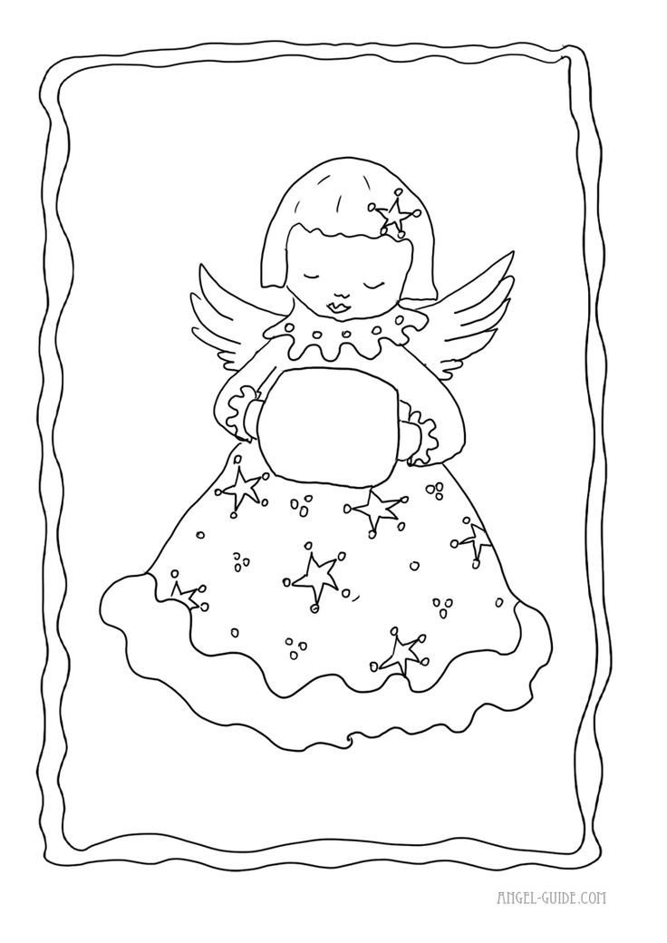 coloring pages cherubs - photo#12