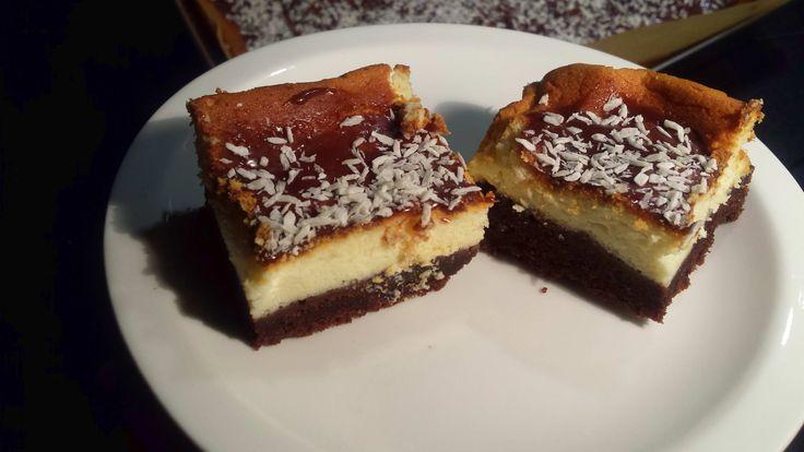Sernik na murzynku, czyli ciasto Izaura