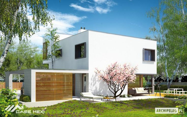 Modern house plans in large variety, both in terms of size and diversity of architecture.