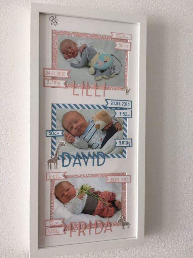 DIY RAHMEN WORKSHOPS – TOLLES GESCHENK ZUM BABY ODER ZUR TAUFE … – paperlovedesign.com