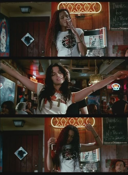 "Girls having a good time in Quentin Tarantino's ""Death Proof"". Sydney Tamiia Poitier and Vanessa Ferlito. I could watch this every day."