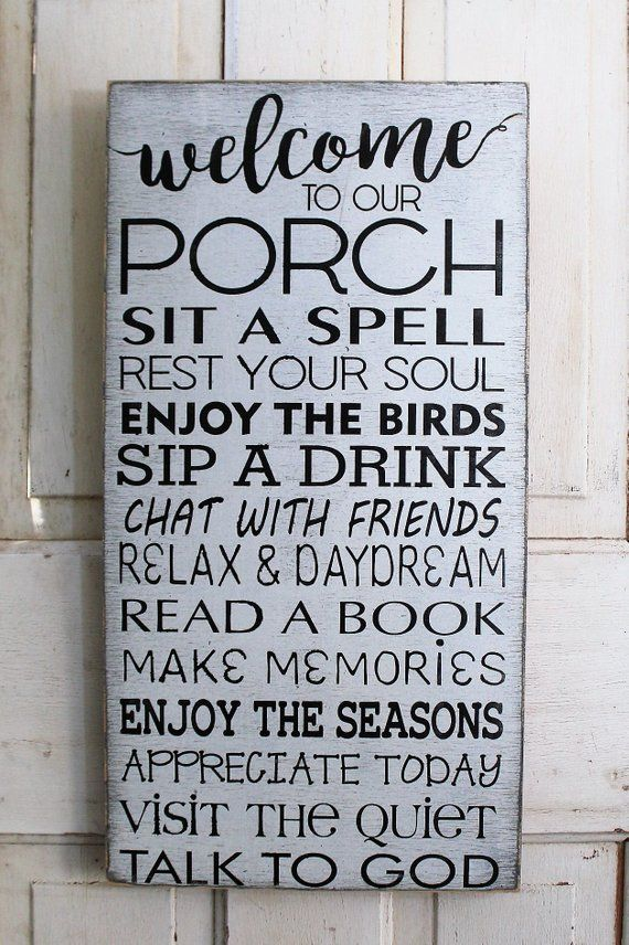 Porch Rules Sign Front Porch Rules Back Porch Rules Shabby Etsy Porch Rules Sign Porch Signs Beach Signs