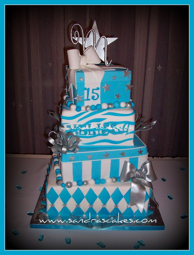 this quinceanera cake is so cute!