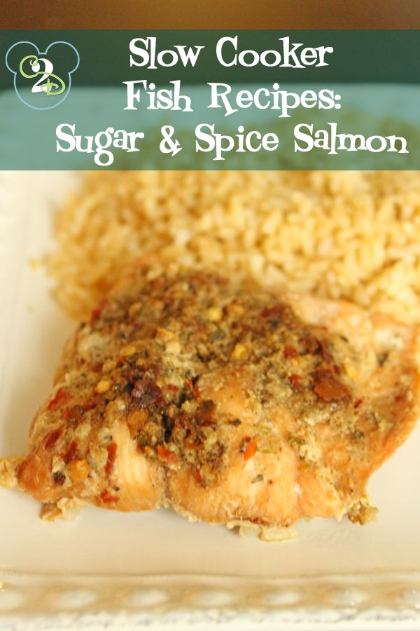 Slow cooker fish recipes sugar and spice salmon recipe for Fish slow cooker recipes