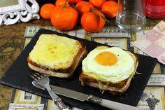 Receta fácil explicada paso a paso para preparar los sándwiches Croque Monsieur y Croque Madame típicos de la cocina francesa.