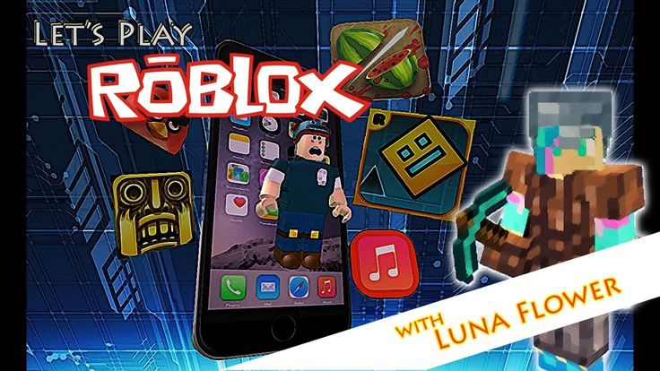 Let's Play Roblox Ep.1, Escape the iPhone 7