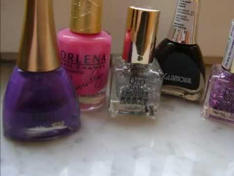 Purple nails ~ tutorial ~