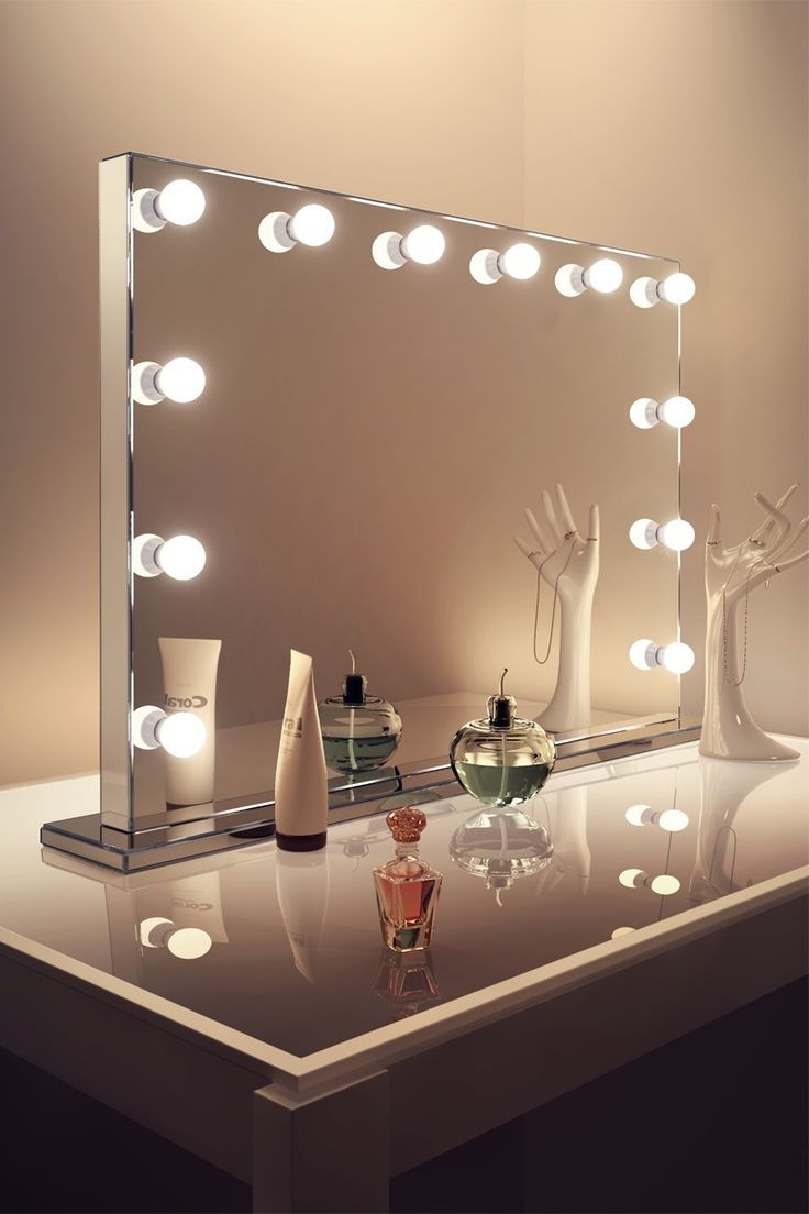 Add a touch of glamour to your bedroom, dressing room or studio with our Venetian Mirror Finish Hollywood (Grand). Diamond X mirrors are crystal clear, diamond cut and corrosion resistant. The smart edge-to-edge design maximises your mirror size and complements any modern interior. Super-bright LEDs give you complete control of your look and the elegant dimming control lets you set the mood. The super-efficient 24V bulbs are cool to the touch, shatterproof and long lasting; keeping you…