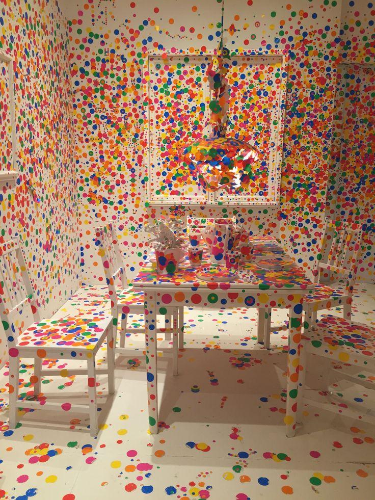 Yayoi Kusama at Louisiana Museum of Modern Art, Copenhagen   Featured on Sharedesign.com