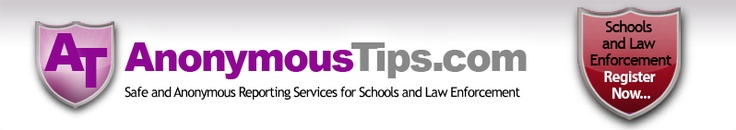 AnonymousTips.com provides free anonymous tip capability for schools, local police departments and government agencies.