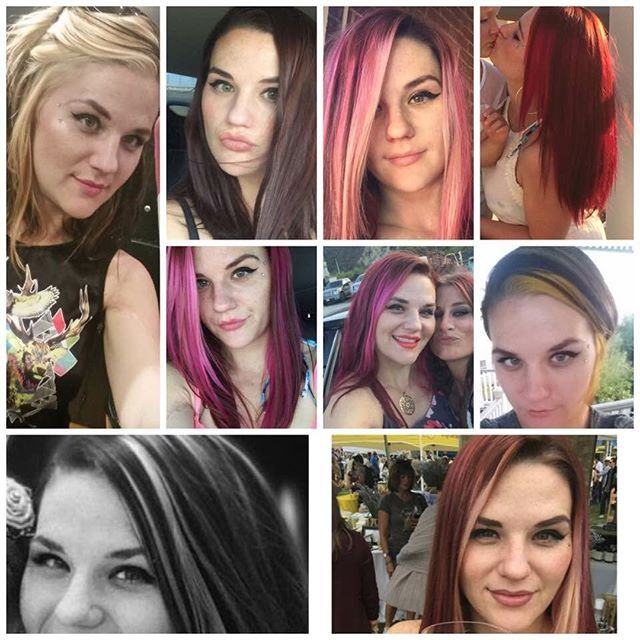 """Top 100 """"brown hair with highlights dark hair with highlights"""" photos All of my hair colors from the past year and a half. What is your favorite? #haircolor #variety #blondehair #redhair #pinkhair #brownhairwithhighlights #multicolor #yellowahair #mulitcolorhair #different #bedifferent #youngmoney #money See more http://wumann.com/top-100-brown-hair-with-highlights-dark-hair-with-highlights-photos/"""