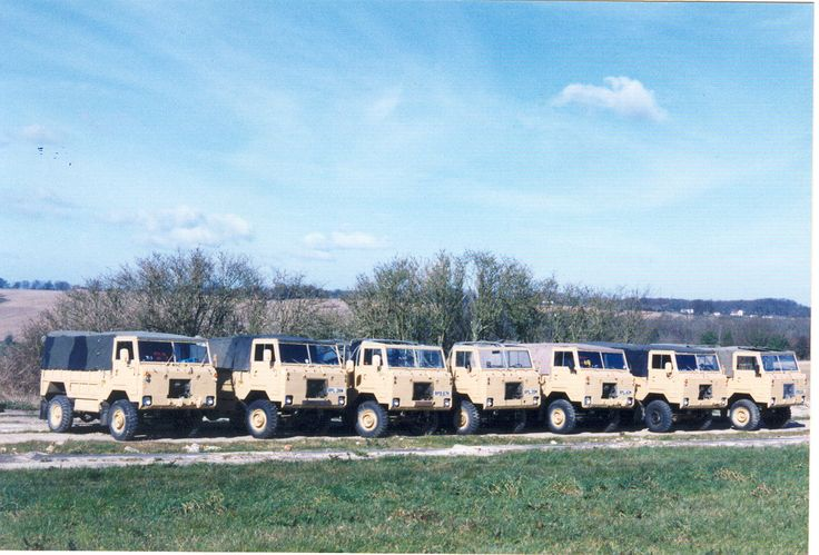 Land Rover FC 101's prepped and sent to a safari park in Africa