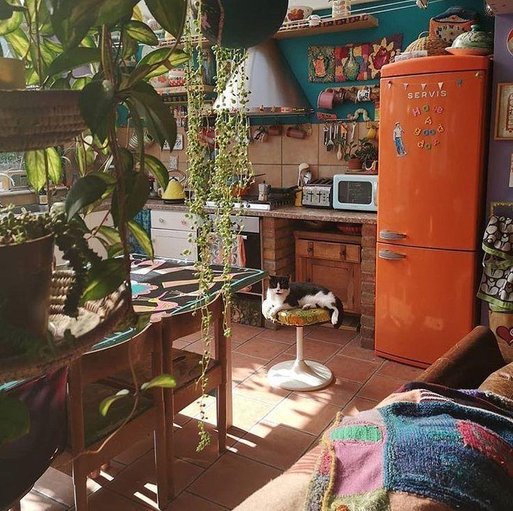 Hoje é dia de mais cozinha por aqui e esta fica n… – #aqui #bohemian #cozinha…