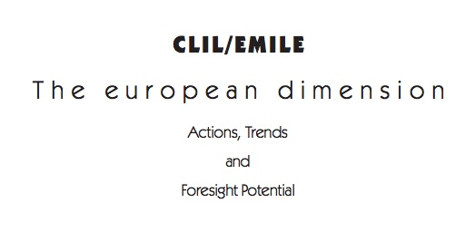Free ebook from the EU of CLIL research & points