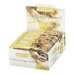 Taste of Nature Exotics Organic Food Bars - Caribbean Ginger Island $33.99 - from Well.ca